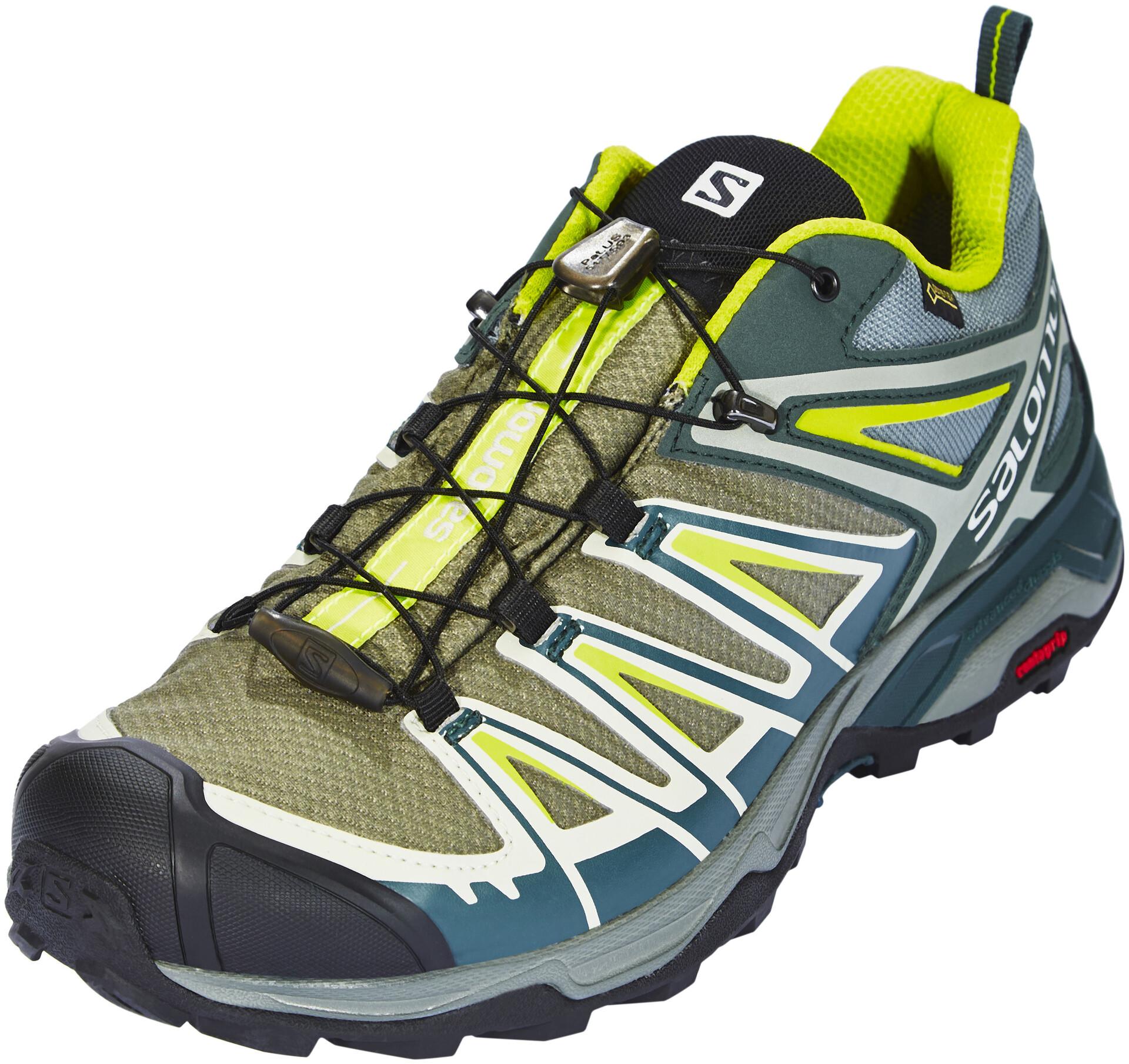 Homme X Salomon Ultra Sur Jaunebleu Chaussures Pétrole 3 Gtx 5jL43AcqR
